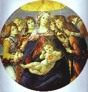 Madonna of the Pomegranate Botticelli
