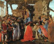 The Adoration of the Magi Sandro Botticelli