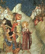 St.Martin Renouncing the Sword Simone Martini