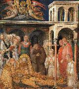 The Death of St.Martin Simone Martini