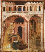 Miracle of Fire Simone Martini