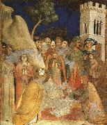 The Miracle of the Resurrected Child Simone Martini