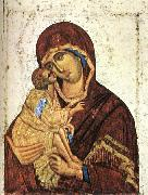 Madonna of Don Icon nst THEOPHANES the Greek