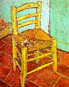 Artist's Chair with Pipe Vincent Van Gogh