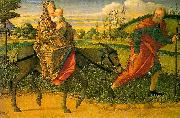 The Flight into Egypt Vittore Carpaccio