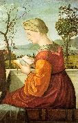 The Virgin Reading Vittore Carpaccio