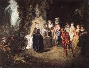 The French Comedy WATTEAU, Antoine
