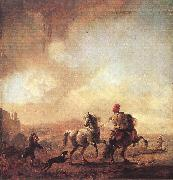 Two Horses er WOUWERMAN, Philips