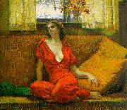 Lady in Red Wilson Irvine