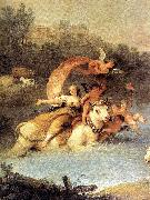 The Rape of Europa (detail) ZUCCARELLI  Francesco