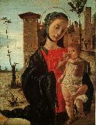 Virgin and Child BRAMANTINO