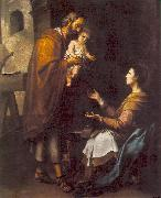 The Holy Family g MURILLO, Bartolome Esteban