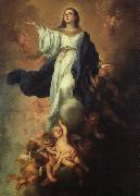 Assumption of the Virgin sg MURILLO, Bartolome Esteban