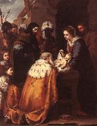 Adoration of the Magi sg MURILLO, Bartolome Esteban