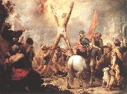 The Martyrdom of St Andrew g MURILLO, Bartolome Esteban