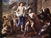 The Triumph of David a POUSSIN, Nicolas