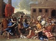 The Rape of the Sabine Women sg POUSSIN, Nicolas