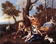 The Nurture of Jupiter sh POUSSIN, Nicolas