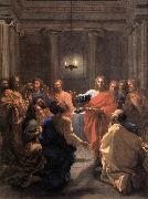 The Institution of the Eucharist af POUSSIN, Nicolas