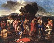 The Sacrament of Baptism af POUSSIN, Nicolas
