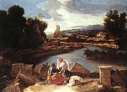 Landscape with St Matthew and the Angel sg POUSSIN, Nicolas