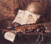 Still-Life of Musical Instruments RING, Pieter de