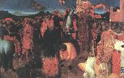 Death of the Heretic on the Bonfire af SASSETTA
