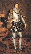 King James I of England r SOMER, Paulus van