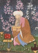 Poet in a garden Ali of Golconda