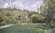 A cowherd on the route du Chou,Pontoise Camille Pissarro