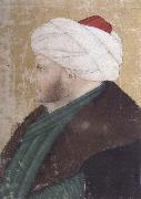 Portrait of the Ottoman sultan Mehmed the Conqueror Costanzo da Ferrara