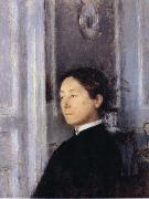 Portrait of Mrs Edmond Khnopff Fernand Khnopff