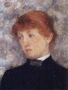 Portrait of A Woman Fernand Khnopff