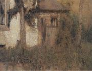 In Fosset The Farmhouse Garden Fernand Khnopff