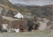 In Fosset The Hamlet Fernand Khnopff