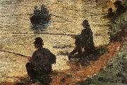 Fisherman Georges Seurat