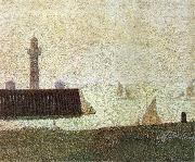 End of the Seawall Georges Seurat