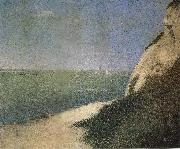 Impression Figure of Landscape Georges Seurat