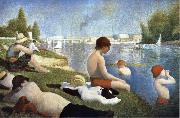 Bathers of Asnieres Georges Seurat