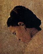 Head Portrait of the Girl Georges Seurat