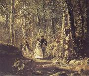 A Stroll in the Forest Ivan Shishkin