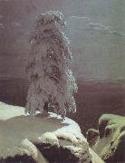 A Pine there stands in the northern wilds Ivan Shishkin