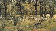 The lawn in the forest Ivan Shishkin