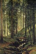 The Brook in the Forest Ivan Shishkin