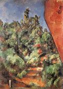 Bibemus Le Rocher Rouge Paul Cezanne