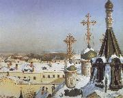 View from the Window of the Moscwo College of Painting Sergei Svetoslavsky