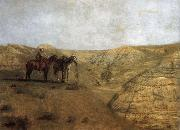 Rancher at the desolate field Thomas Eakins