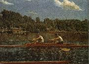 Biglin Brother-s Match Thomas Eakins