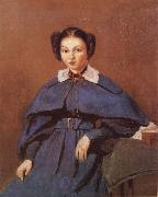 Portrait of Mme Corot Camille