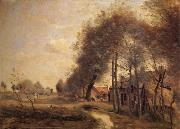 The road of Without-him-Noble Corot Camille